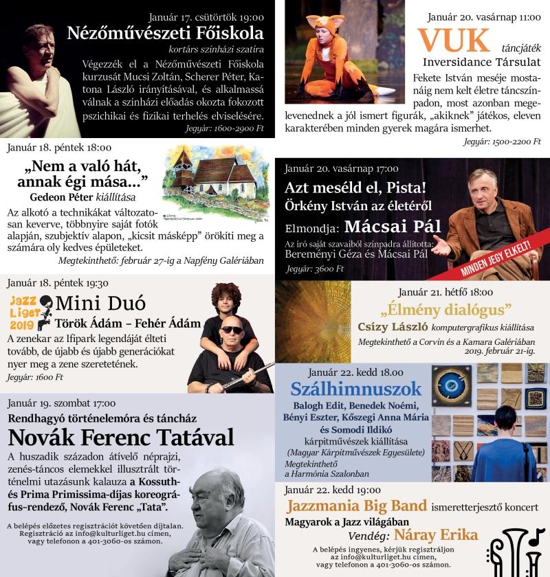 Erzsébetligeti Színház - A Magyar Kultúra Napja
