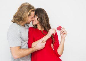 Nincs február 14-e csók nélkül.