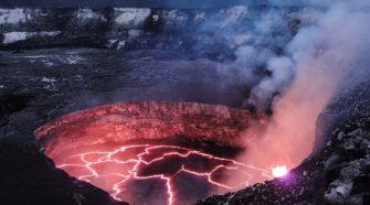 Vulkánkitörés előrejelzése