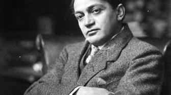 Ady Endre Székely Aladár felvétele 1915 körül.