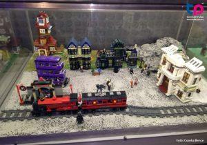 Harry Potter Lego diorama - Roxfort expressz- Tudománypláza