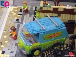 Scobby-doo, Lego Rejtély Rt. kisbusz diorama