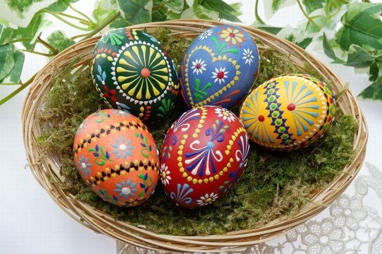 Tojásfestés a legismertebb húsvéti hagyomány.