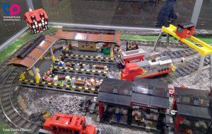 Lego vasút terepasztal - Tudománypláza