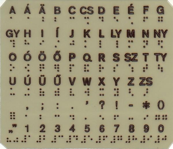 A Braille-írás, más néven a pontírás, a vakok és gyengénlátók számára készült és általuk használt, általánosan elfogadott írásrendszer.