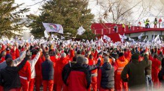 A sztrájk kezdetét az Audi nyitotta meg.