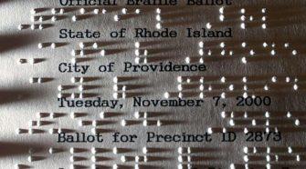A Braille-írás –fény a sötétségben