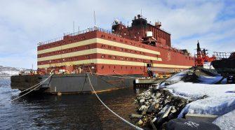 Úszó atomerőmű üzemkész állapotban