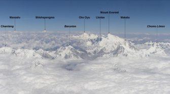 Himalája hegyein ökobarát illemhely.