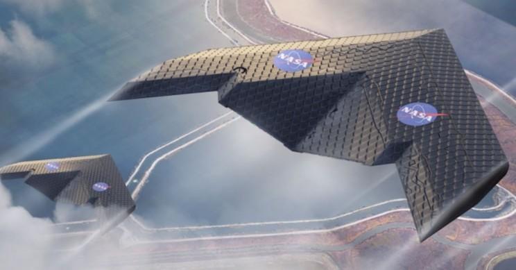 Repülőgépszárny új innovációval