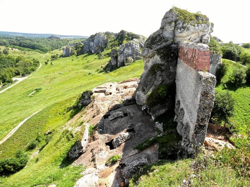 A várat a 1600-as évek közepén a svéd csapatok elfoglalták és lerombolták.