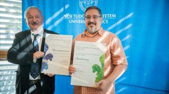 Kihirdették a PTE Bora kitüntető címet az új tanév első szenátusi ülésén.