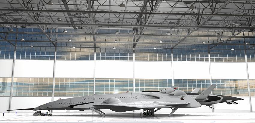 A Flash Falcon konstrukció a kompakt termonukleáris reaktorok óriási teljesítményét aknázza ki.