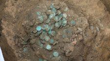 Jelentős római kori pénzlelet-együttes Dél-Baranyában