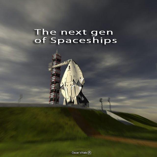 Most éppen űrrepülőt, azaz inkább űrrepülőgépet tervez.