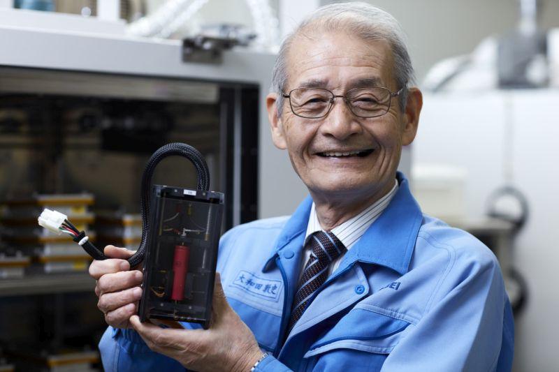 A Nobel-dijjas Akira Yoshino.