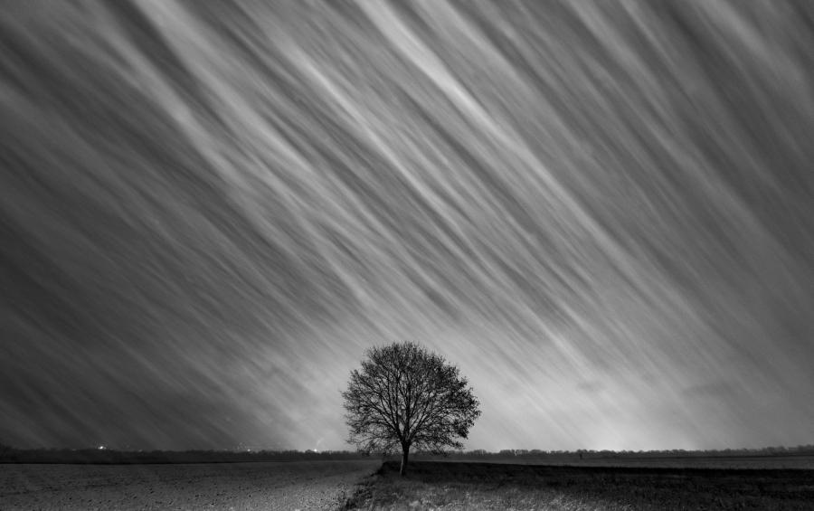 Zeller Péter – Hajnali hófúvás kép