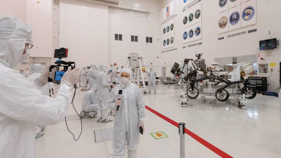 A NASA marsjáró sikeres futópróbája