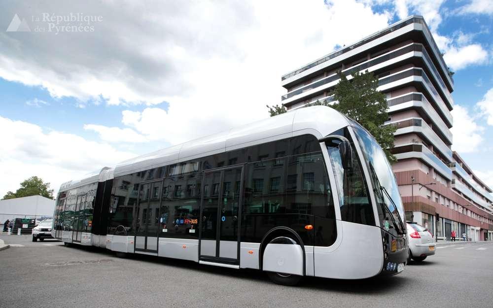 Hidrogénbusz Franciaországban