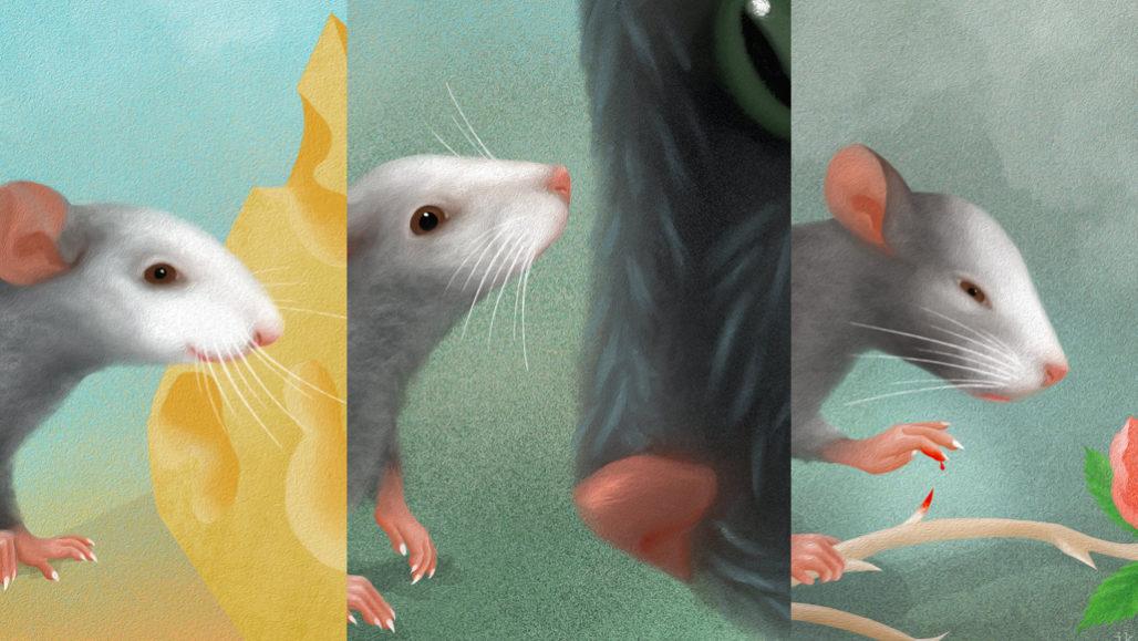 Az egerek arckifejezései érzelmek széles skáláját mutatják