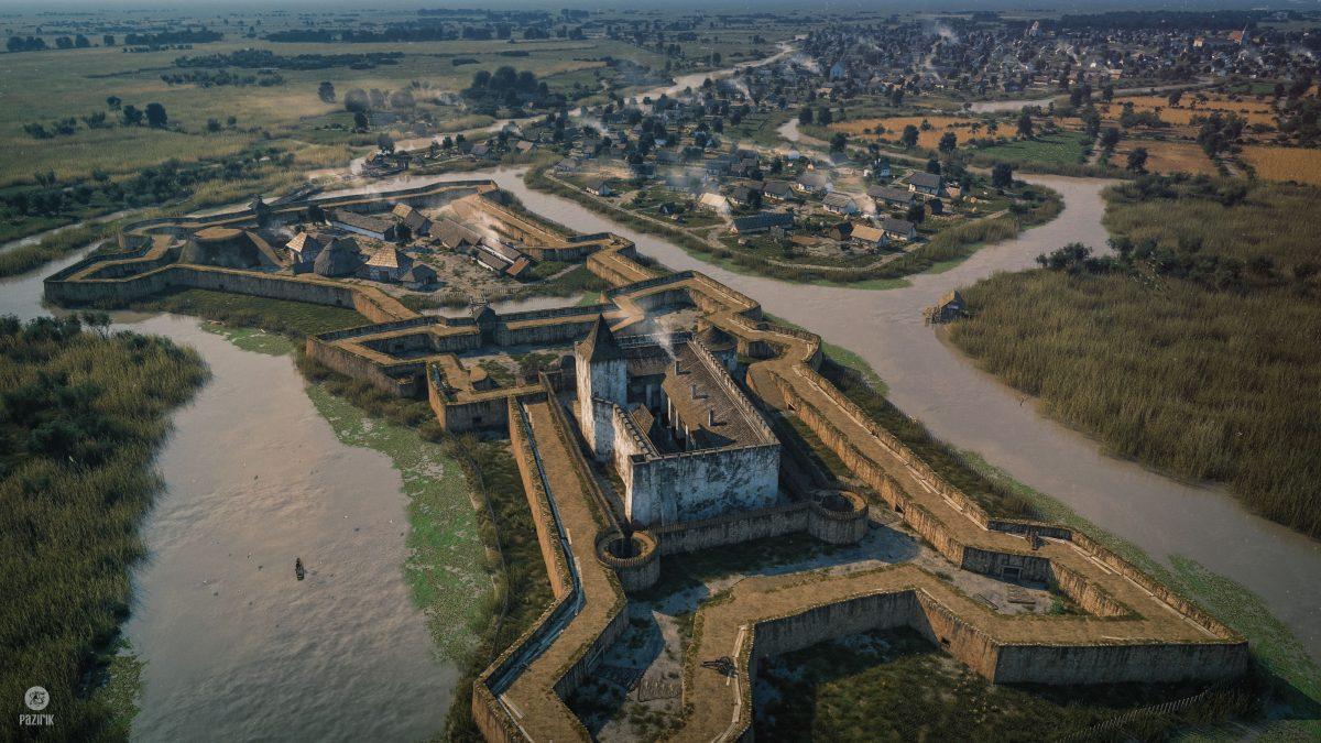 Gyulai vár palánkfalakkal
