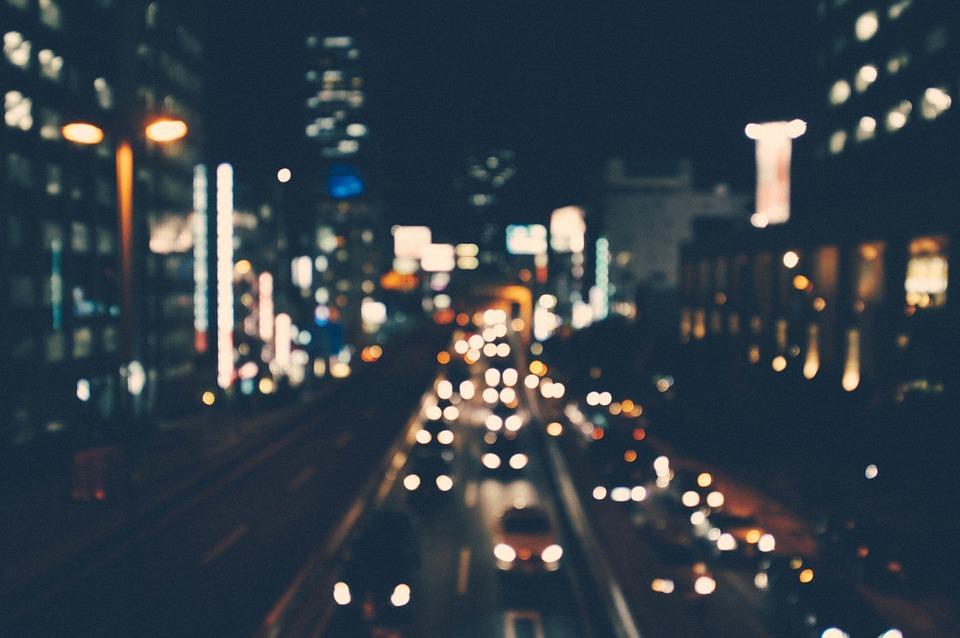 A fényszennyezés világosan látható probléma