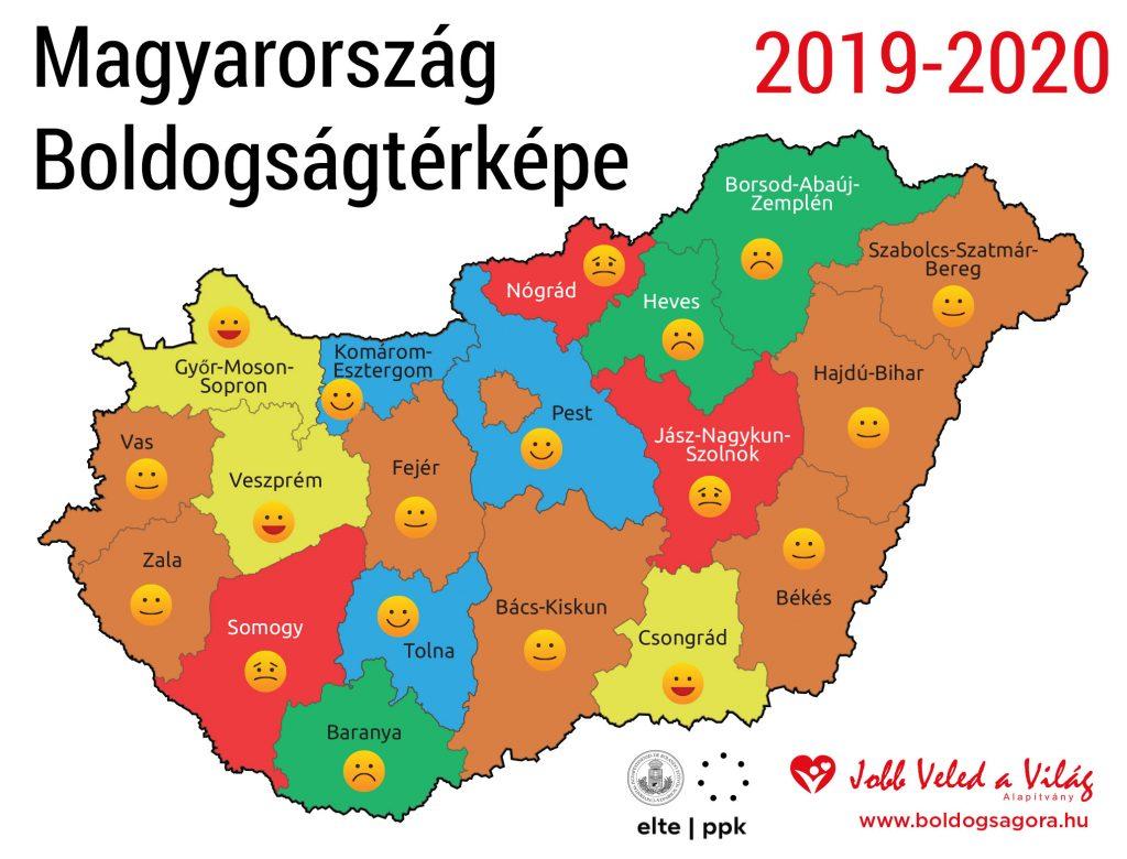 Melyik a legboldogabb magyar város?