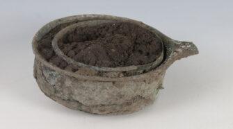 Milyen lehetett egy római kori bronz szűrőkészlet?