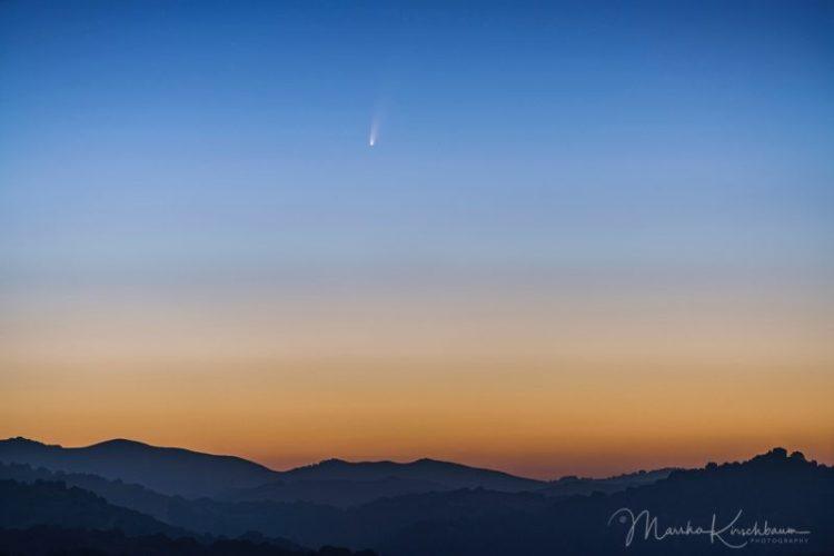 NEOWISE üstökös szabad szemmel?