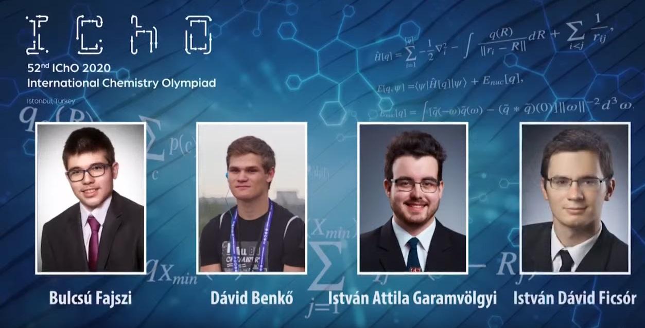 Kémia – négy érmet szereztek a magyar középiskolások