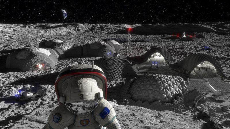 A Hold-kolónia tervének illusztrációja Forrás: universetoday.com