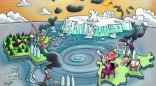 Egy grönlandi luxus ásványvíz az év környezetszennyező terméke.