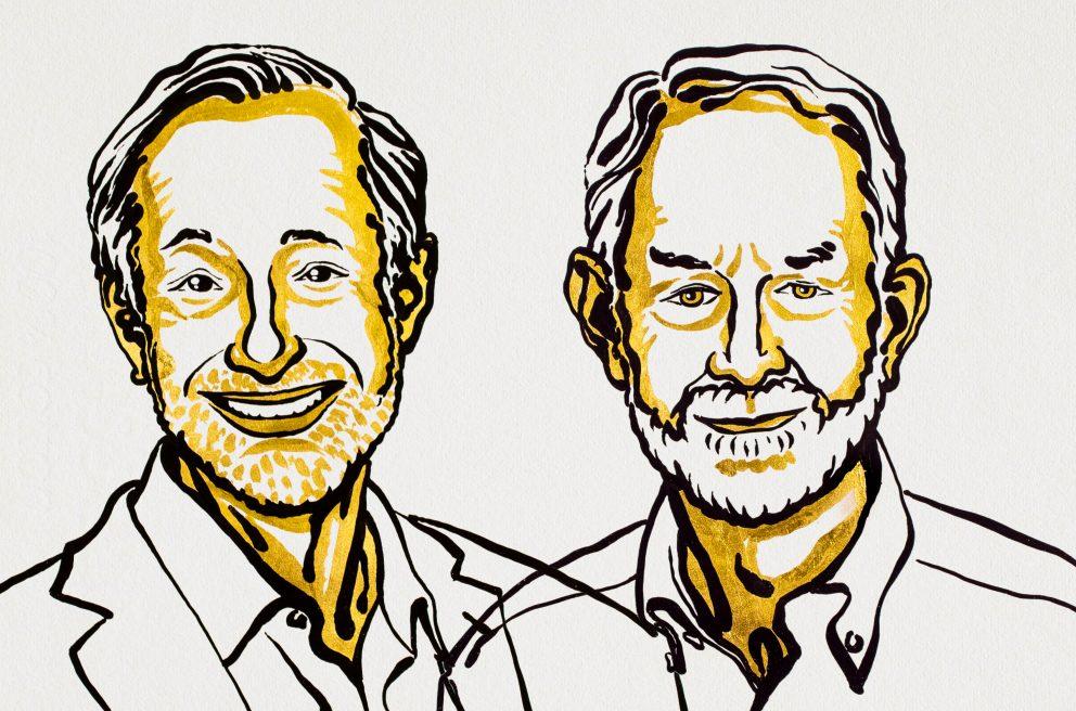 2020. október 12-én Paul R. Milgrom és Robert B. Wilson kapta meg ezt az elismerést, új aukciós elméletek és eljárások kidolgozásáért.
