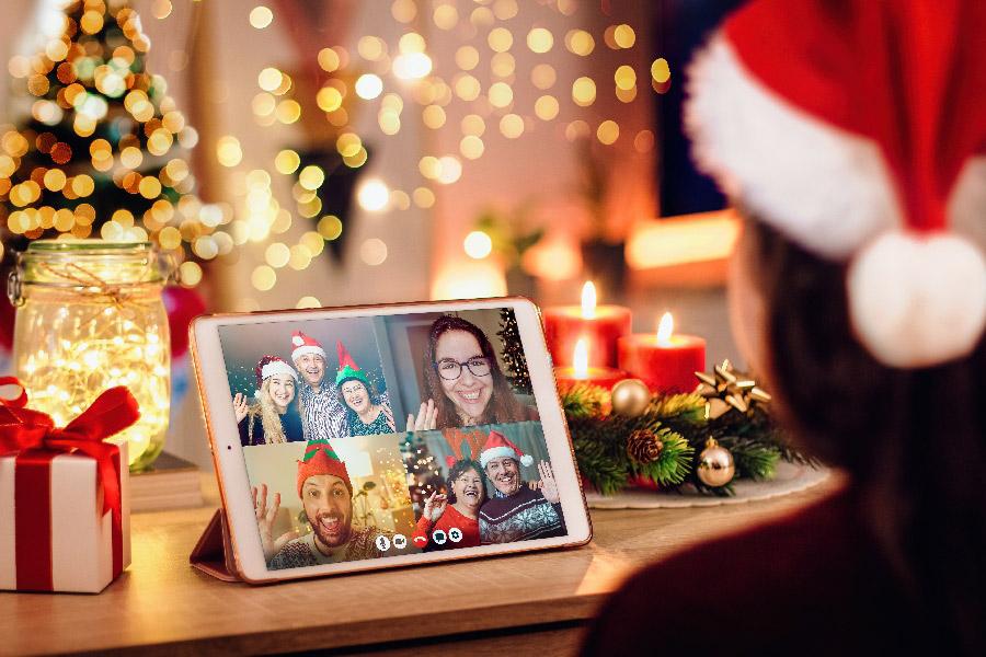 Virtuális találkozások - karácsony online