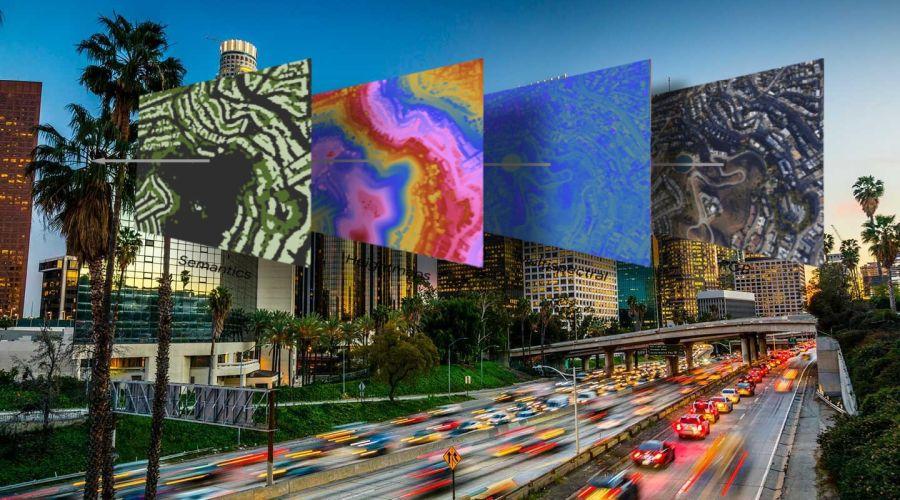 Los Angeles leképezése - A város leképezése. Forrás oxy.edu