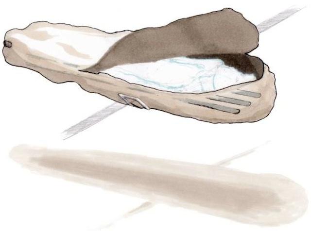 Sketch a Body Back hullazsákról. Forrás: vice.com