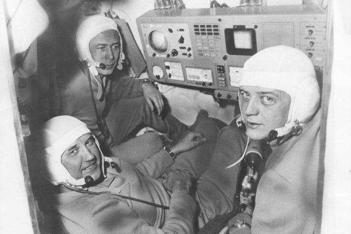 A Szojuz-11 legénysége. Az egység földet érése után, holtan találták őket a kabinban. Forrás: Science Time