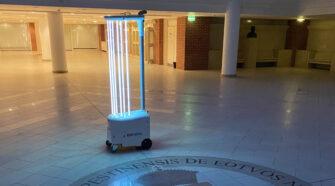 Új generációs fertőtlenítő robot