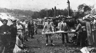 A magyar tábori mozgó sütödék