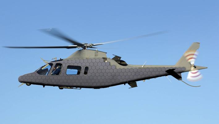 HPK15B helikopter az ADAPTIV-rendszerrel felszerelve. Forrás: baesystems.com