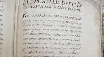 Brutus-mű elveszettnek hitt kézirata