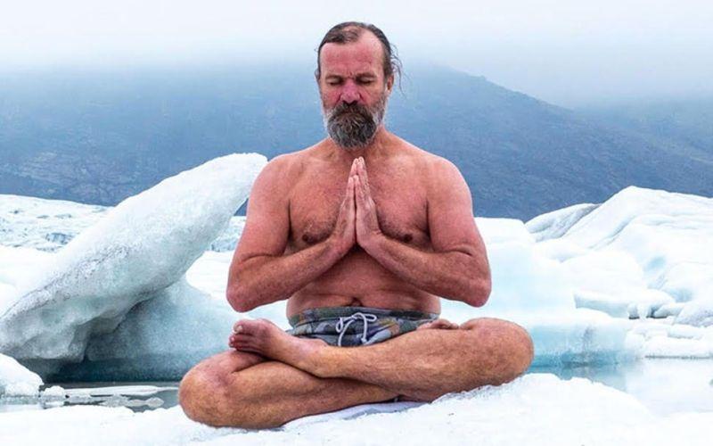Wim Hof extrém képességei ámulatba ejtik az orvostársadalmat. Forrás: souls-space.com