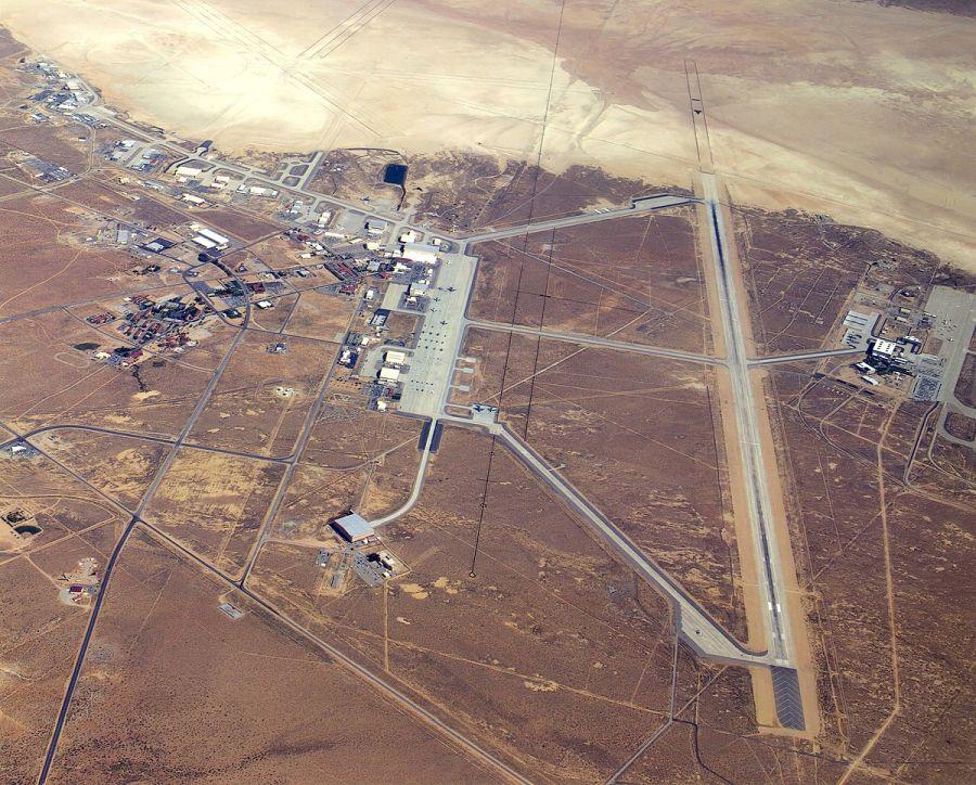 Edwards légi támaszpont. Forrás Wikipédia