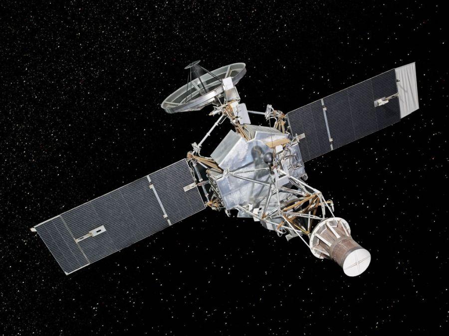 A Mariner 2 űreszköz, amely megszerezte az elsőséget az amerikaiaknak a Vénuszért folytatott űrversenyben. Forrás: practicalspace.com