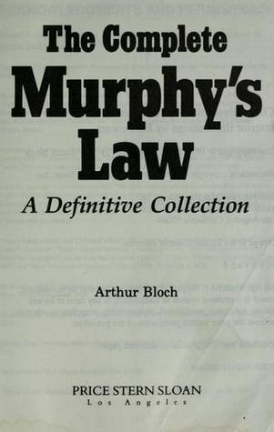 Murphy törvénykönyvének első kiadása. Forrás: godreads.com