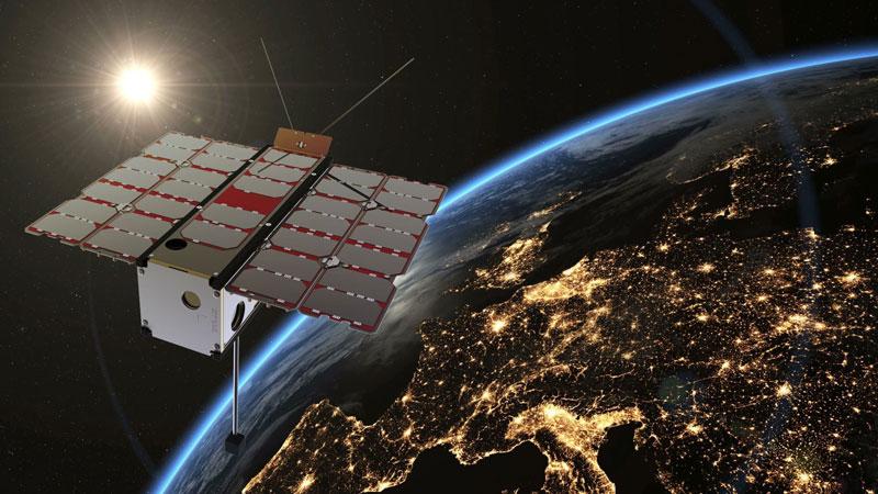 RadCube küldetés, kis műhold a Föld körül
