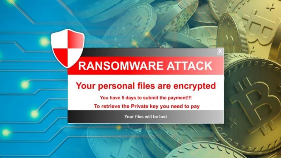 A ransomware program futtatásakor ehhez hasonló képernyő ugrik fel a hozzáférés zárolása mellett. Forrás: USA Today