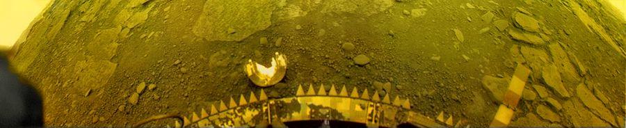 Venyera-13 első színes panorámaképeinek egyike. Forrás: planetary.org